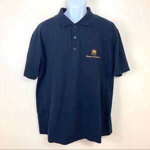 Chateau Mountain Rotchild Mens shirt blue navy XXL